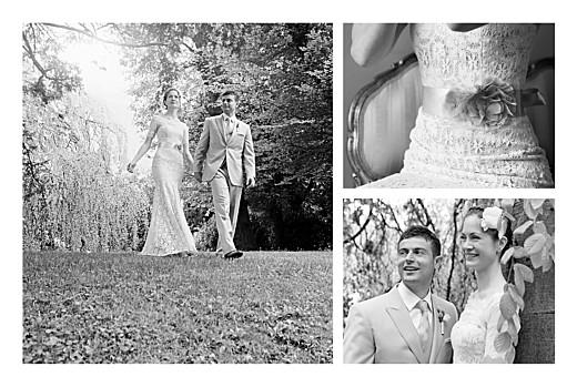 Carte de remerciement mariage Réjouissance blanc