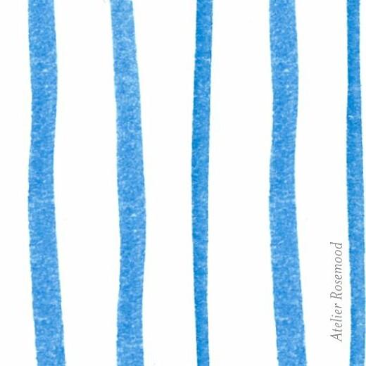 Etiquette de baptême Colombes (carré) bleu - Page 2