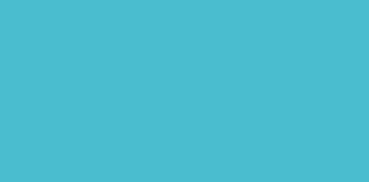 Marque-place Baptême Poisson bleu