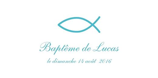 Marque-place Baptême Poisson bleu - Page 4