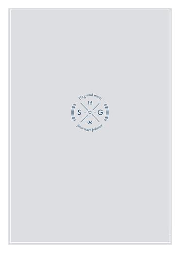 Livret de messe mariage Croisette gris - Page 4