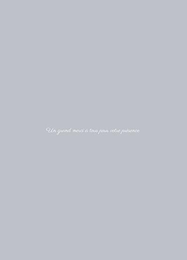 Livret de messe Classique chic gris - Page 3