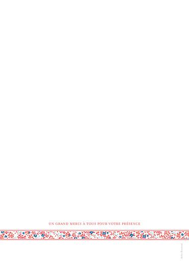 Livret de messe mariage Ruban liberty rouge - Page 4