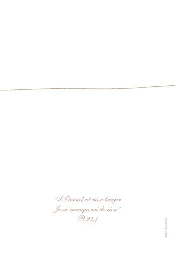 Menu de baptême Poétique jumeaux mixte - Page 4