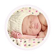 Faire-part de naissance Petit versailles (triptyque) rose page 3