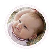 Faire-part de naissance Petit versailles (triptyque) rose page 6