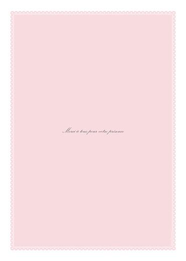 Livret de messe mariage Gourmand rose - Page 4