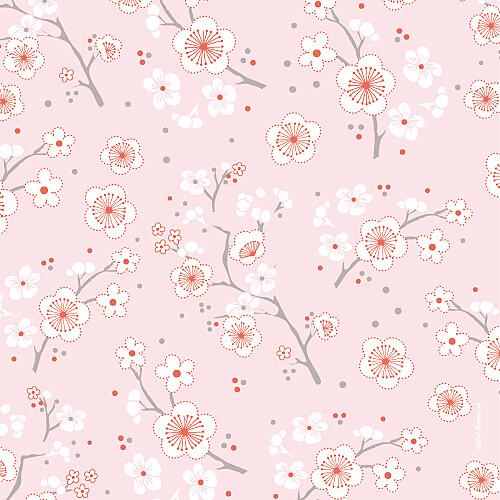 Faire-part de naissance Cerisiers en fleurs (3 photos) rose - Page 4