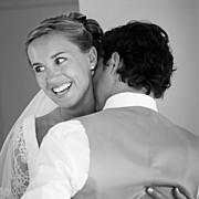 Carte de remerciement mariage Plein la vue (triptyque) blanc page 4
