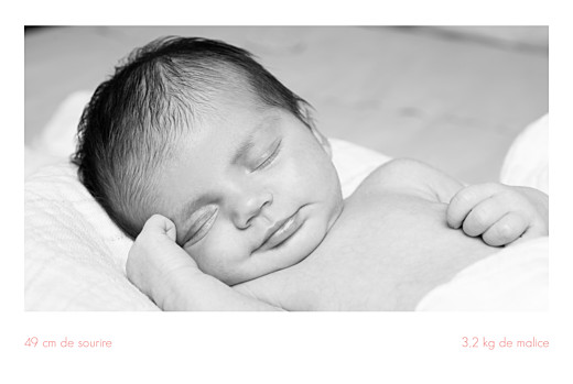 Faire-part de naissance Simple 3 photos paysage blanc - Page 2