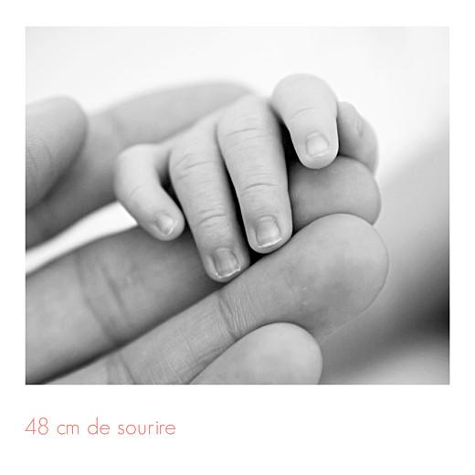 Faire-part de naissance Simple 5 photos (triptyque) blanc - Page 6