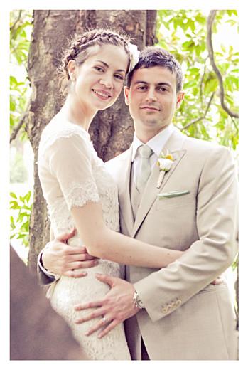 Carte de remerciement mariage Souvenir 3 photos (portrait) blanc