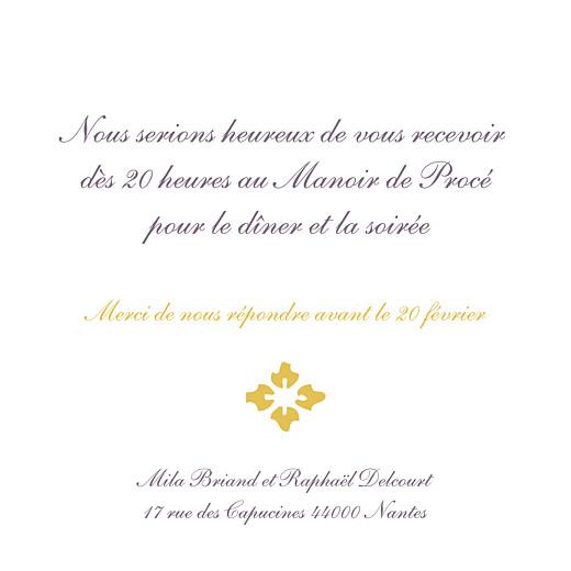 Carton D Invitation Mariage On Dirait Le Sud Atelier