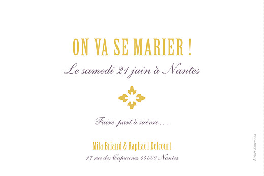 Save the Date On dirait le sud... jaune - Page 2