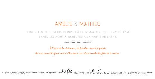 Faire-part de mariage Promesse champêtre (pano) blanc - Page 3