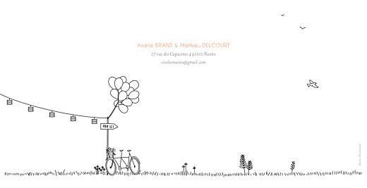 Faire-part de mariage Promesse champêtre (pano) blanc - Page 4