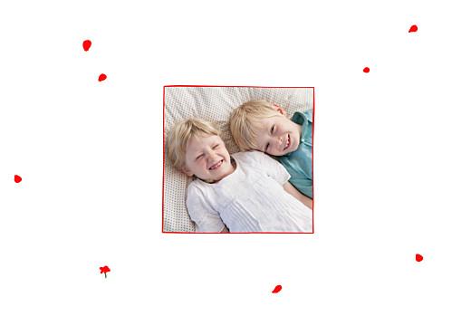 Faire-part de naissance Coquelicots (4 pages) rouge - Page 2
