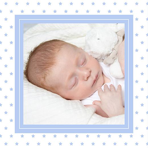 Faire-part de naissance Classique chic (triptyque) bleuet - Page 5
