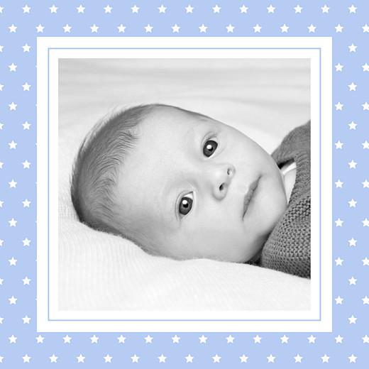 Faire-part de naissance Classique chic (triptyque) bleuet - Page 6