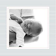 Faire-part de naissance Petit fjord (triptyque) bleu & rose page 4