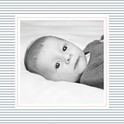 Faire-part de naissance Petit fjord (triptyque) bleu & rose page 6