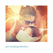Faire-part de naissance Petit polaroid (triptyque) blanc page 4