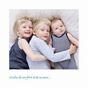 Faire-part de naissance Petit polaroid (triptyque) blanc page 5