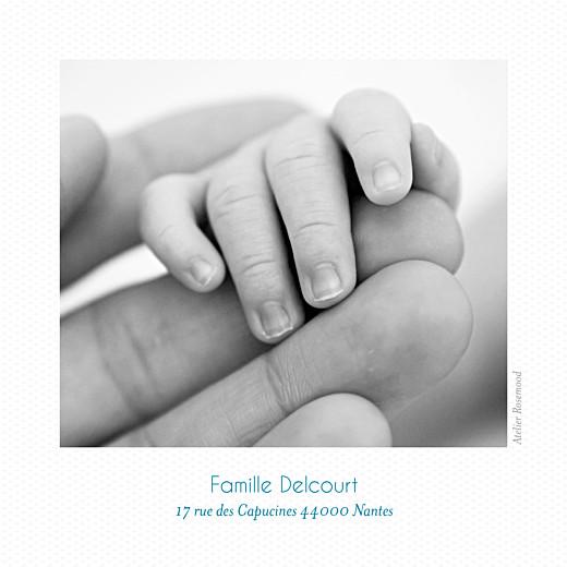 Faire-part de naissance Petit polaroid (triptyque) blanc - Page 6