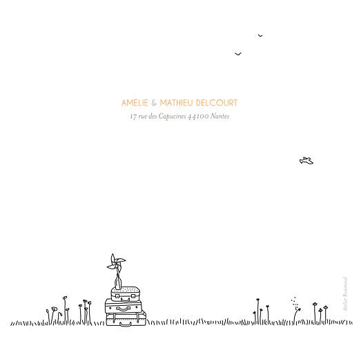 Carte de remerciement mariage Promesse champêtre (5 photos) blanc - Page 4