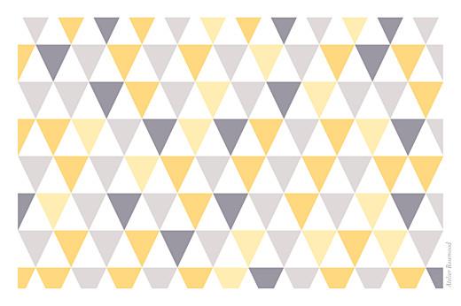 Carte de voeux Petits triangles photo jaune violet - Page 4