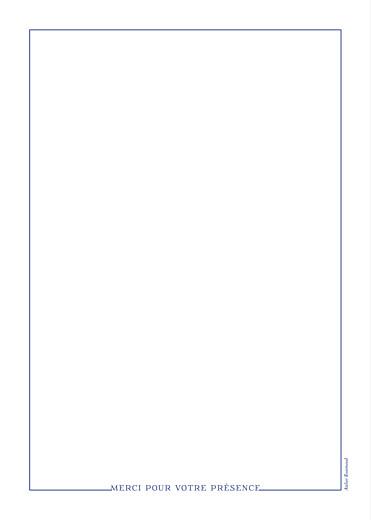 Livret de messe mariage Classique liseré bleu - Page 4