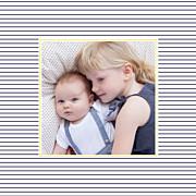Faire-part de naissance Petit matelot (triptyque) bleu & jaune page 4