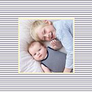 Faire-part de naissance Petit matelot (triptyque) bleu & jaune page 6