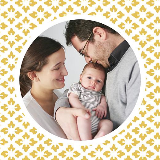 Faire-part de naissance On dirait le sud... (triptyque) jaune - Page 3