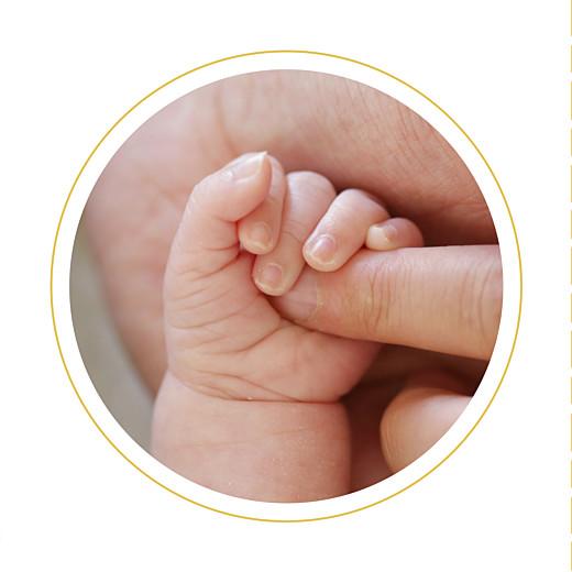Faire-part de naissance On dirait le sud... (triptyque) jaune - Page 5