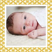 Faire-part de naissance On dirait le sud... (triptyque) jaune page 6