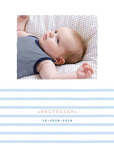 Affichette Marinière photo bleu - Page 1
