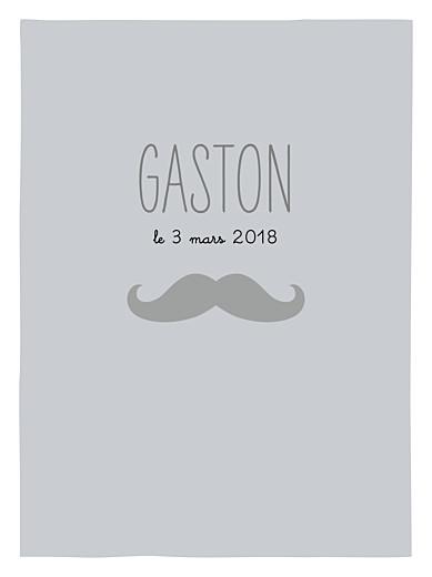 Affichette Moustache gris - Page 1