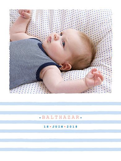 Affiche Marinière photo bleu - Page 1