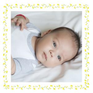 Carte de remerciement Merci cueillette photo jaune