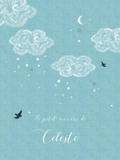Affiche Nuage bleu - Page 1