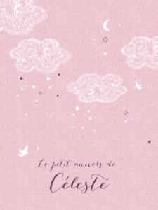 Affiche Nuage rose