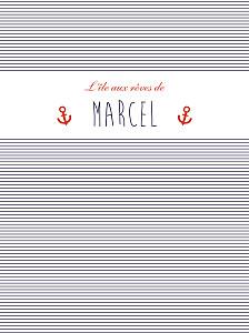 Affiche Matelot bleu & rouge