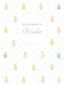 Affiche Ananas rose