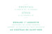 Carton d'invitation mariage La déclaration vert texturé