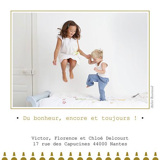 Carte de voeux Paris doré - Page 2