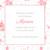 Faire-part de naissance Fleurs des champs (triptyque) rose - Page 2