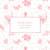Faire-part de naissance Fleurs des champs (triptyque) rose - Page 3