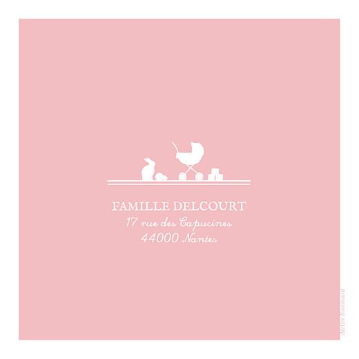 Faire-part de naissance Jeux enfants à 3 (triptyque) rose garçon fille - Page 3