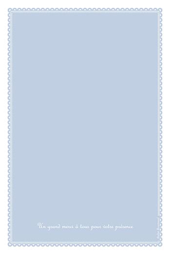 Menu de baptême Tambour bleu - Page 4